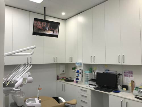 Dentist TV Installation