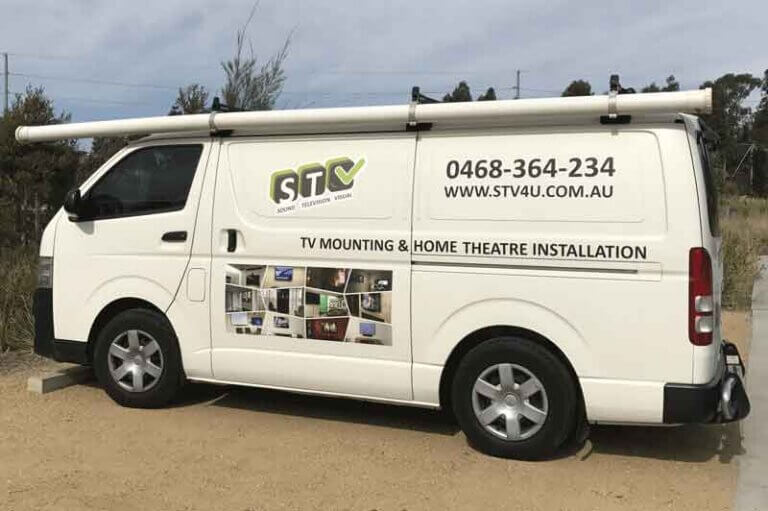 Mobile TV Installation Unit