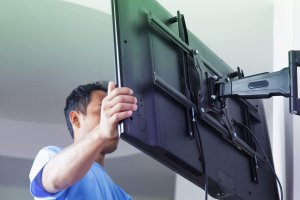 TV Mounting Installation